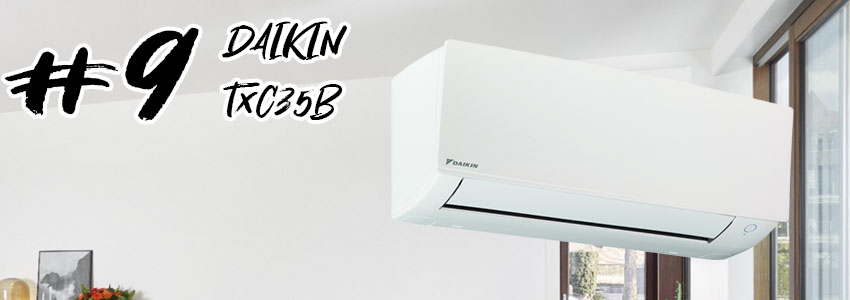 Muestra el aire acondicionado DAIKIN TXC35B